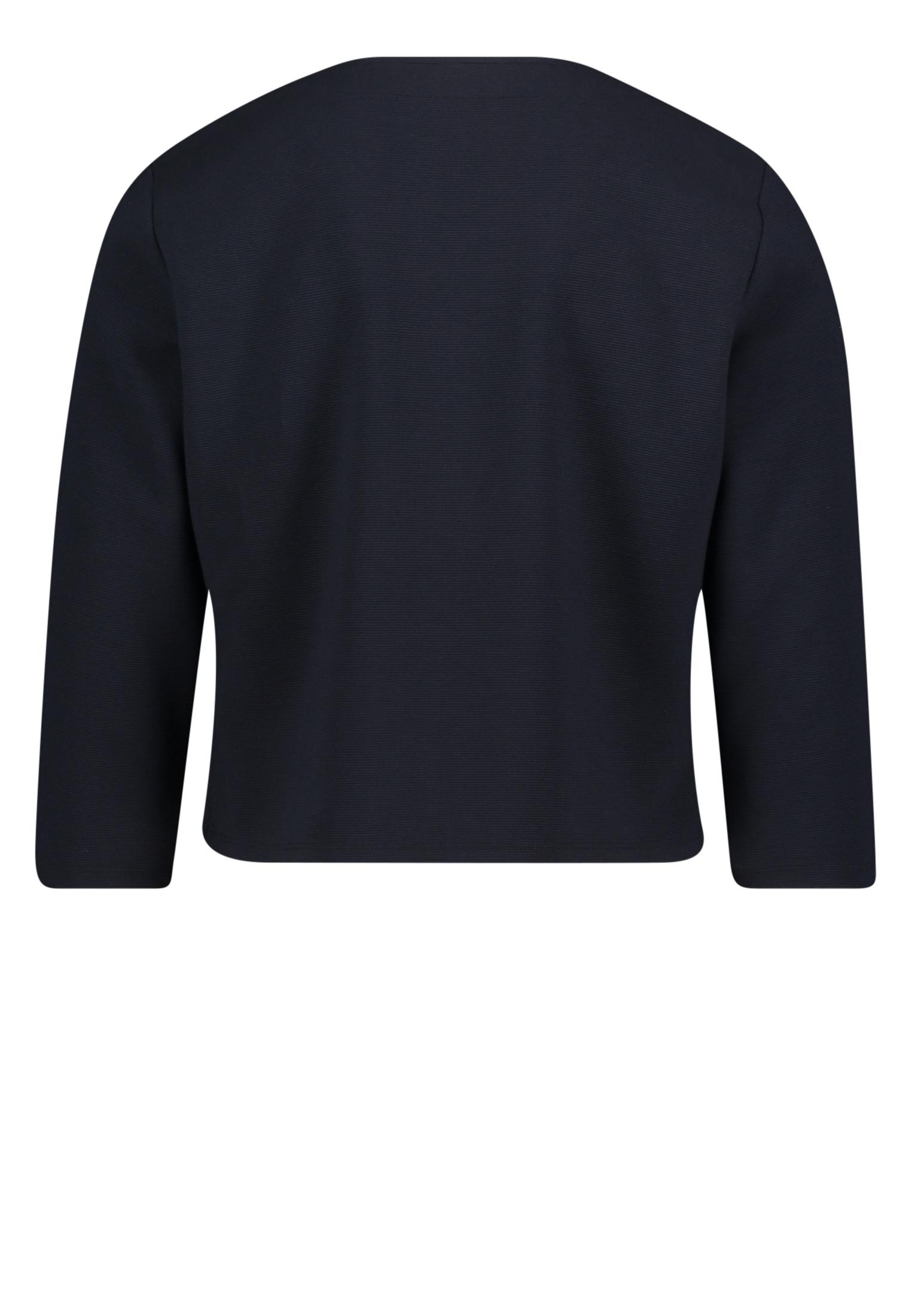 Shirt Jacke Kurz 3/4 Arm