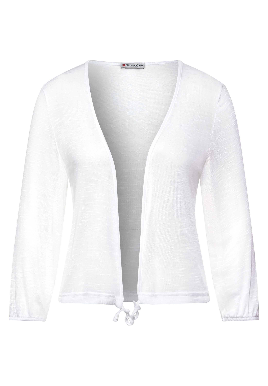 Offene Shirtjacke