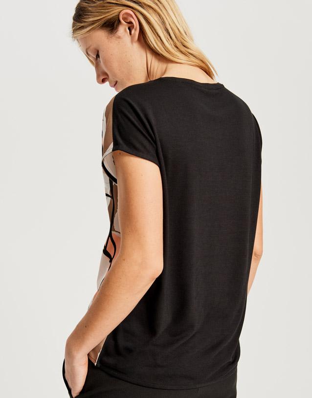Print-Shirt Sanosi print