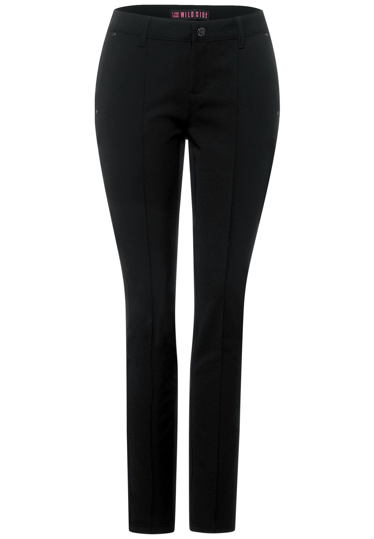 Slim Fit Hose Style York mit Middle Waist