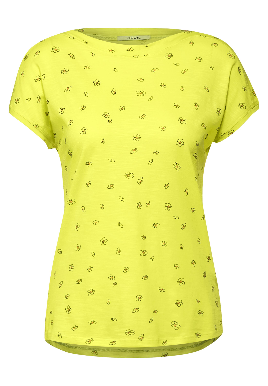 T-Shirt mit Minimal Print