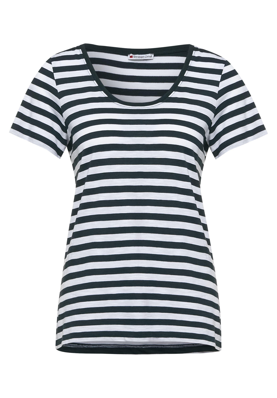 QR new Gerda T-Shirt mit Streifen Muster